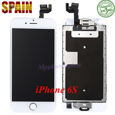 Pantalla Completo LCD iPhone 6S Display Tactil Digitalizador+BOTÓN Blanco NUEVO