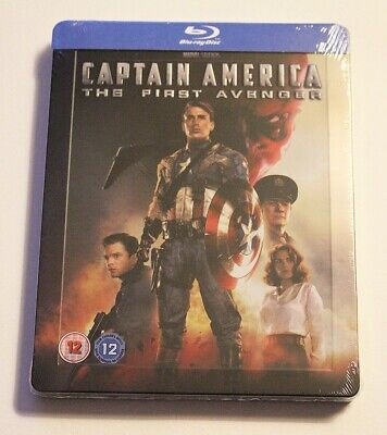 Captain America The First Avenger (Blu-ray SteelBook) (Zavvi Exclusive) SEALED
