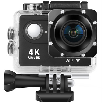 4K 2'' Ultra Full HD 1080P Sport WiFi Cam Action Camera Video Recorder Camcorder