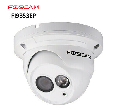 Foscam FI9853EP 720P POE Wired Home Security IP Camera IR Cut Motion Detection