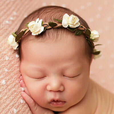 Headband Unique Newborn Baby Girls Toddler Kids Flower Gift Headband Hair band
