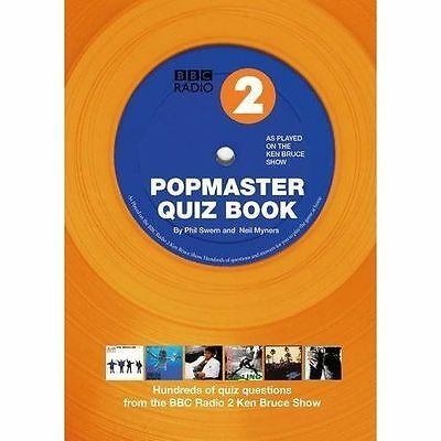 """AS NEW"" Popmaster Quiz Book, BBC Radio 2: Hundreds of Quiz Questions from the B"