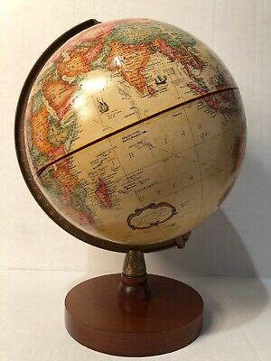 Replogle 9 Inch Diameter World Classic Globe/Made In Usa