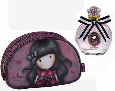 SANTORO GORJUSS LONDON pochette con eau de toilette profumo 50 ml.