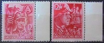 GERMANY Third Reich 1945 12th Anniversary of Third Reich Set of 2 MNH