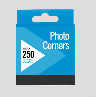 Photo Corners Invisible Clear Transparent Permanent Acid Free - Pack 2500