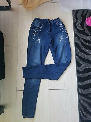 Ladies F+F Age 13-14 Years Soft Denim Jeans Immaculate Condition