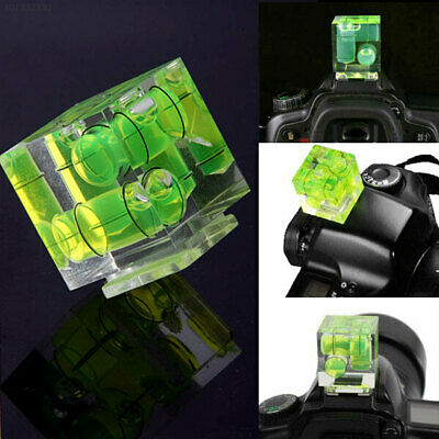 3 Axis Three-dimensional Bubble Spirit Level Camera Hot Shoe 3D Gradienter Mount