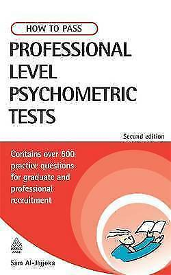 """""""AS NEW"""" How to Pass Professional Level Psychometric Tests: Challenging Practice"""