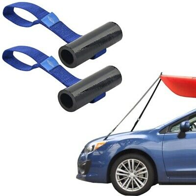 Under Hood Straps Kayak Canoe Boat Quick Loop Car Trunk Tie Down Anchor Point