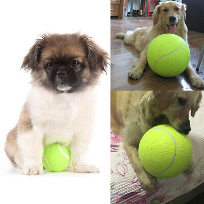Hot Big Giant Pet Dog Puppy Tennis Ball Chew Toy Thrower Chucker Launcher Toy