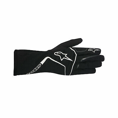 Alpinestars TECH 1-K RACE MY17 Karting Gloves Black/White - Genuine - XL