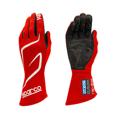 Sparco Race Gloves LAND RG-3.1 red (with FIA homologation) - Genuine - 10