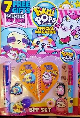 Pikmi Pops Surprise Official Magazine 2019 # 4 = 7 Free Gifts