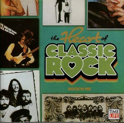 Heart of Classic Rock Rock'n Me 2 CD 25 Hits Time Life New & Sealed