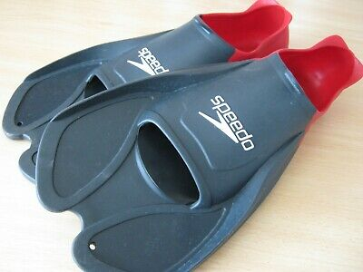 Speedo Biofuse Resistance Training Fins Swimming Aid Flippers UK size 6-7