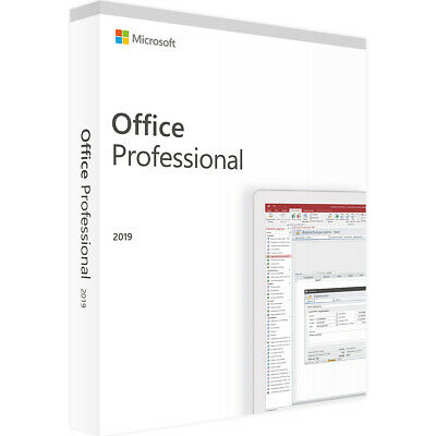 Microsoft Office 2019 Professional Win Multilanguage Original Download ESD