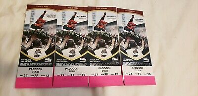 2019 Indianapolis Indy 500  4 PADDOCK    4 of 8 available