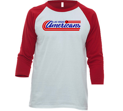 Las Vegas Americans MISL Soccer 3/4 Sleeve T-Shirt | Multiple Styles and Colors
