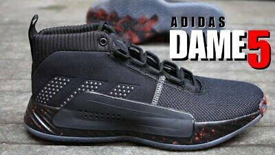 promo code 5770a 52abe Adidas Dame 5 Peoples Champ Men s Basketball Shoes 2019 Sneakers BB9316 sz  9.5