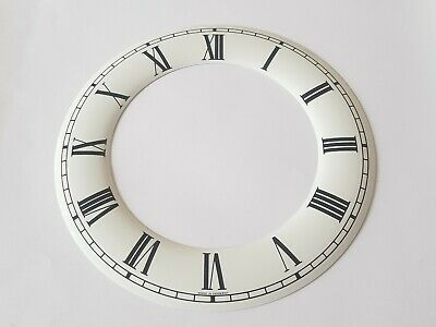 Clock Chapter/Hour Ring Aluminum Enamel style  Outside 160mm Inside 105mm Roman