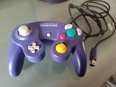 Purple - Official Genuine Original Nintendo GameCube Wired Controller