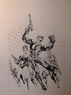 Strange Tales # 167 - Re-creation of Jim Steranko's Original Cover Artwork