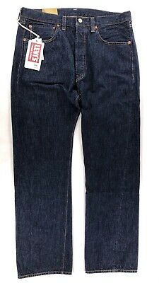 7263741c7a1 Levis Vintage Clothing Mens Jeans 501XX 1947 Selvedge Cone Denim Big E Dark  Wash