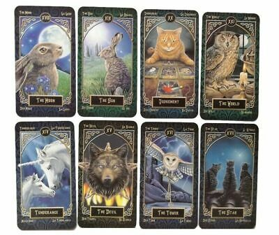 New 78 Tarot Card Deck Tarot Familiars Board Game Deck Divination