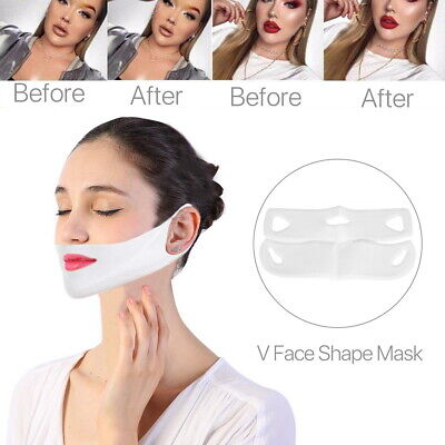 4D Face-lift V Shape Mask Neck Face Slim Double Chin Anti-Wrinkle Remove Tool