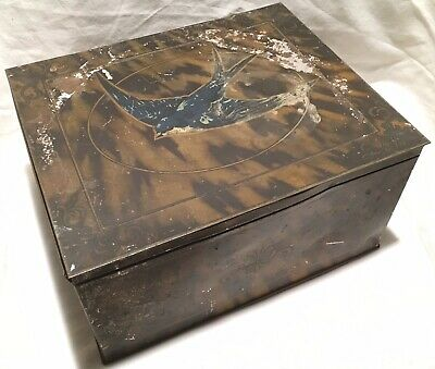 Vintage Blue Bird Luxury Assortment Chocolate Toffee Confectionary Sweet Tin