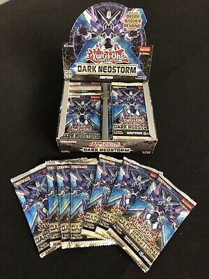 Yugioh 24x Booster Packs Dark Neostorm 1st Edition Brand New!