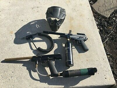 sypder 2000 and patriot paintball guns