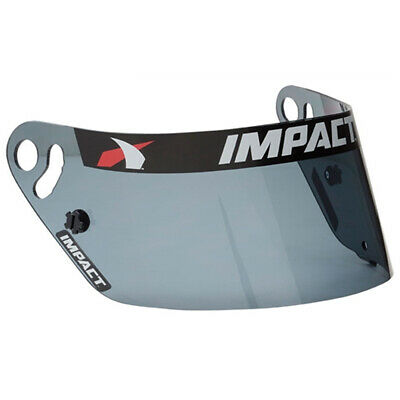New Impact Racing 1320 Helmet Replacement Shield Visor Dark Smoke