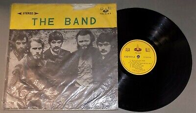 Vintage rock lp THE BAND self-titled debut lp 1973 Taiwan/Asian pressing CSJ-893