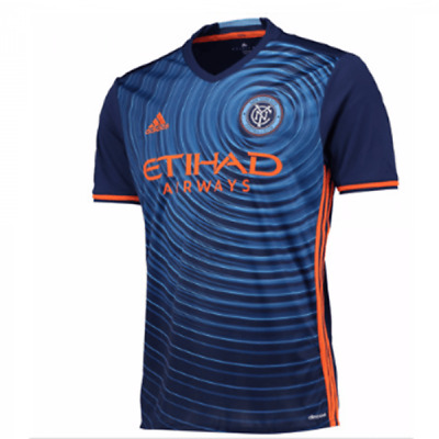 dc08f1bc4fdd68 NEW YORK FC 2017-2018 Home Jersey ADIDAS ORIGINAL official FREE 2 ...