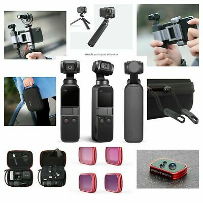 DJI Osmo Pocket 4K Action Camera Gimbal Traveler Kit Bundle