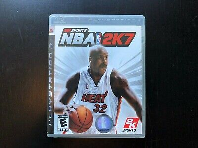 NBA 2K7  PS3 NTSC Sony Playstation 3 Complete Great Condition