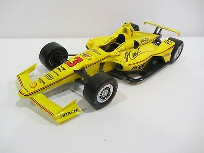2019 HELIO CASTRONEVES signed 1:18 INDIANAPOLIS 500 PENNZOIL DIECAST INDY CAR