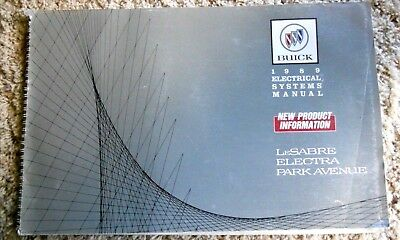 Buick 1989 Electrical Systems Manual, LeSabre, Electra, Park Avenue