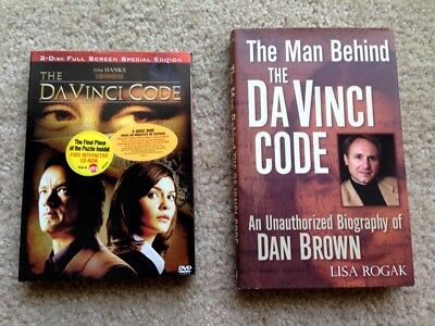 The Da Vinci Code Package - Special Edition 2-Disc DVD Set and Dan Brown Bio