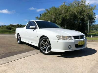2005 Holden Commodore VZ Ute SVZ SV6 V6 LOW KM