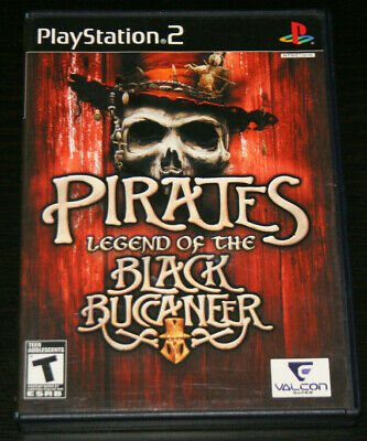 Pirates: Legend Of The Black Buccaneer (PlayStation PS2 Game)