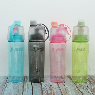 Portable Outdoor Sport Spray Bottle Travel Water Drinking Cup Leak Proof Bottle