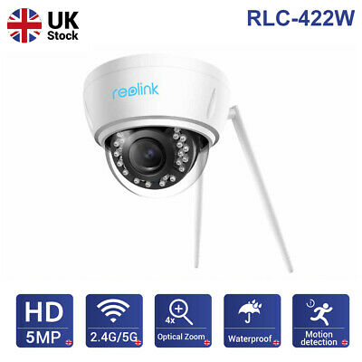 Reolink 5MP Wireless Security Camera Dual-Band WIFI Autofocus Outdoor RLC-422W