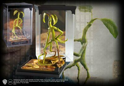 Harry Potter : BOWTRUCKLE Magical Creatures from The Noble Collection NOB5250