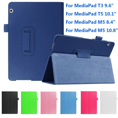 Shell Smart Case Funda Tablet Cover For Huawei MediaPad M5 8.4/10.8 T3 T5 10