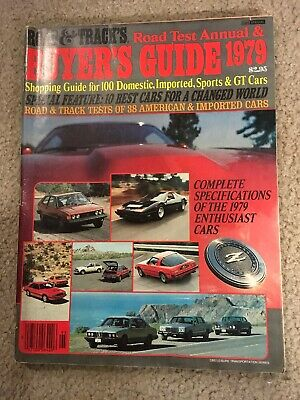 Road And Tracks Buyers Guide 1979