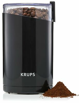 KRUPS F203 Electric Spice and Coffee Grinder with Stainless Steel Blades, 3 o...
