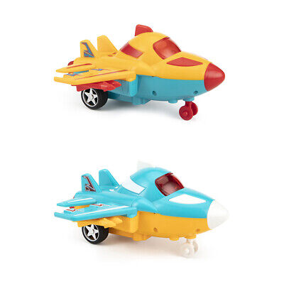 3*1.5V Inertia Toy Plane Friction Powered Cars for Kids More than 3 years Old LM